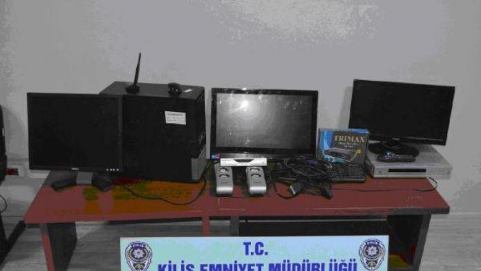 Kilis'te belediyenin bilgisayarını çalan 2 şüpheli tutuklandı