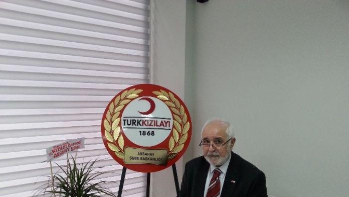 Aksaray Kızılay Şube Başkanlığına Efrayim Şişman Seçildi