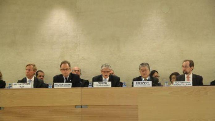 Başbakan yardımcısı Lütfi Elvan BM İnsan Hakları komisyonunda konuştu