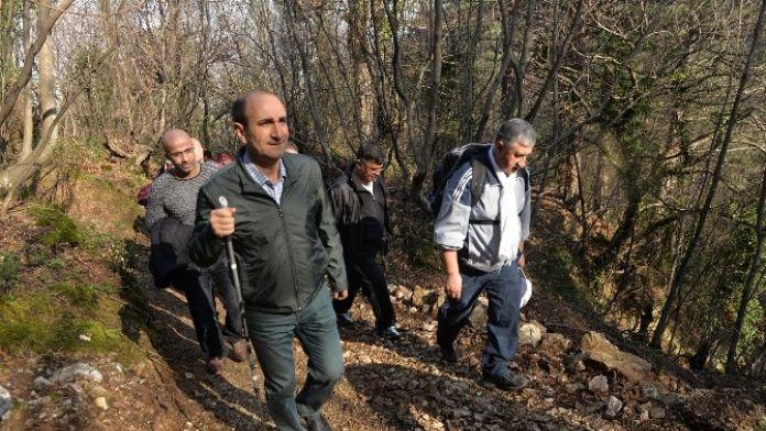Başkan Edebali'den 'Doğa' Yürüyüşü