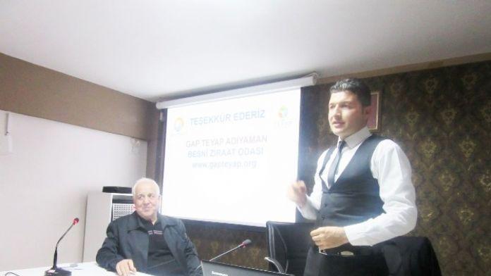Besni Ziraat Odasından, Arazi Toplulaştırma Konferansı