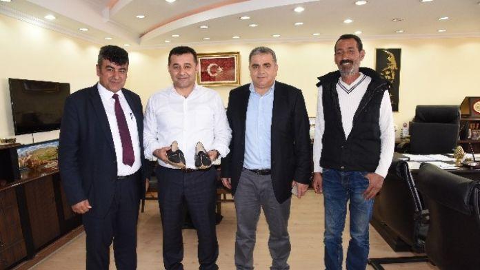 Kahramanmaraşlılar Derneği'nden Alanya Belediyesi'ne Teşekkür Ziyareti