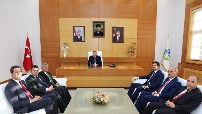 Başkan Toçoğlu, Genel Başkan Yardımcısı Üstün'ü Ağırladı