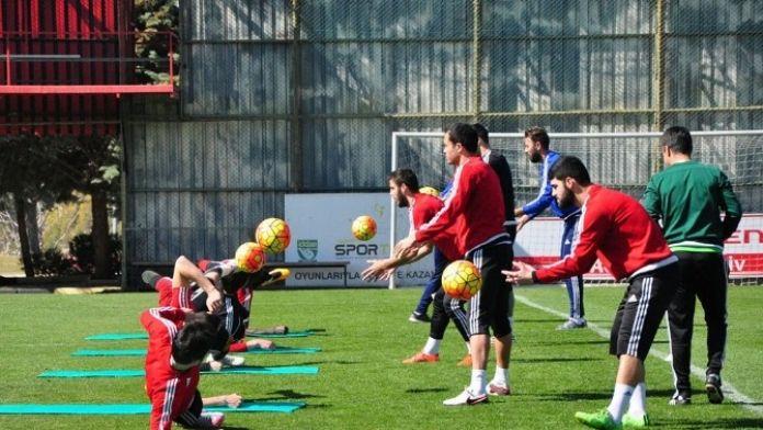 Gaziantepspor, Osmanlıspor Maçı Hazırlıklarına Başladı