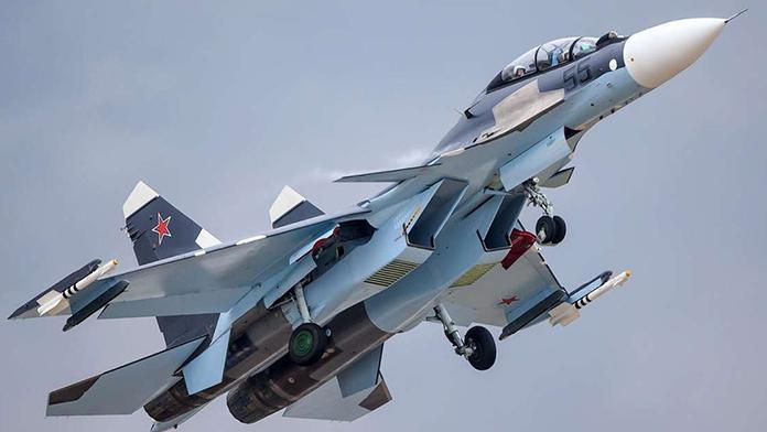 Rusya'da savaş uçağı düştü!