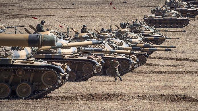 TSK Suriye'deki hedefleri vurdu!