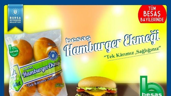 Besaş'ın Yeni Lezzeti Hamburger Ekmeği