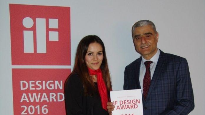 İhlas Ev Aletlerine İf Tasarım Ödülü
