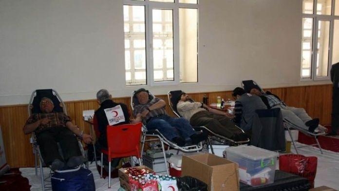 Derbent'te Camide Kan Bağışı Kampanyası