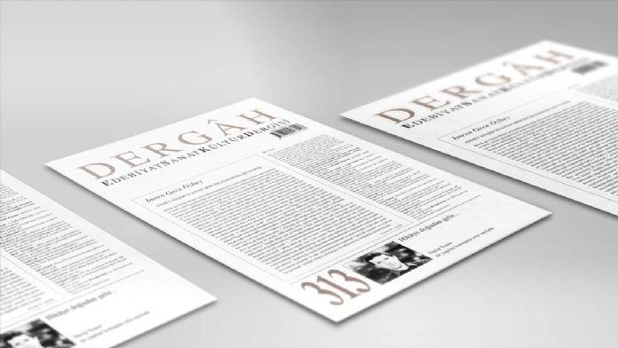 Dergah'ın ilk sayısı Latin harfleriyle yeniden basıldı