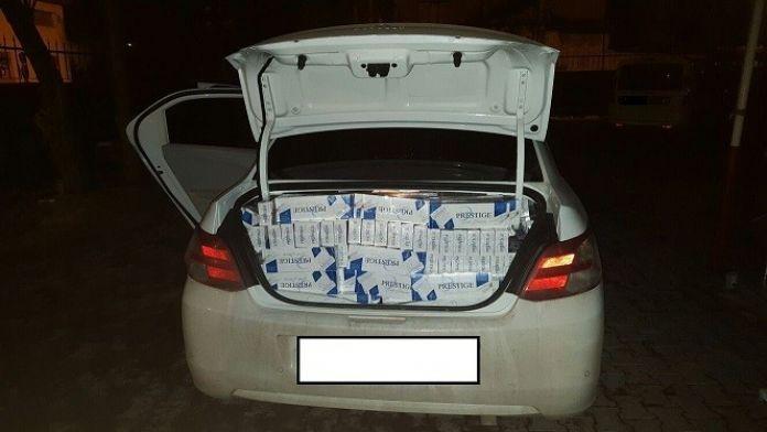 Erzurum'da 54 Bin 500 Paket Kaçak Sigara Ele Geçirildi