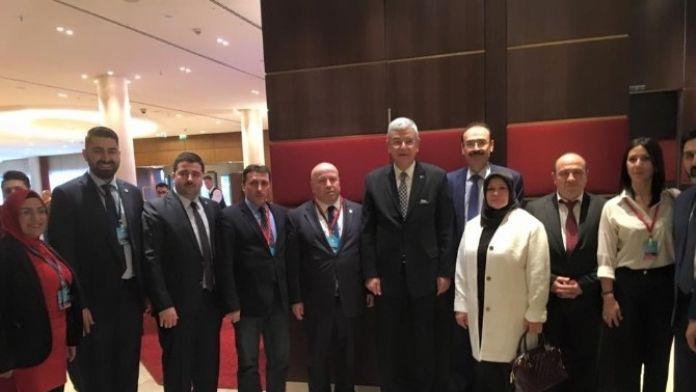 Atgb Genel Başkanı Buyurman AB Bakanı Volkan Bozkır İle Görüştü
