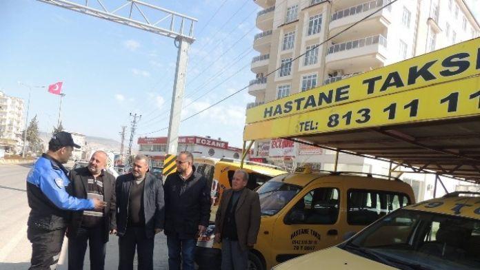 Toplum Destekli Şube Müdürlüğü, Taksiciler İle Bir Araya Geldi