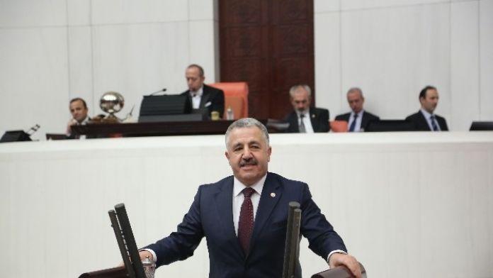AK Parti Kars Milletvekili Ahmet Arslan, 'Bakü-tiflis-kars İle Londra Orta Asya'ya Bağlanıyor'