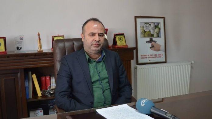 Malatya Eczacı Odası Başkanı Tahir Özelçi: