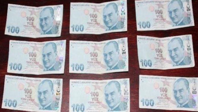 Amasya'da sahte paraya 2 gözaltı