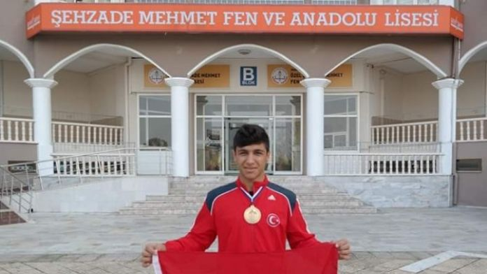Şehzade Mehmet'li Furkan Toprak Türkiye İkincisi Oldu