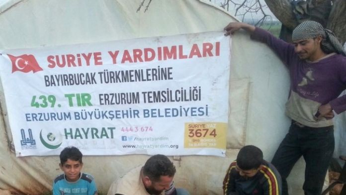 Dadaşların Yardımları Türkmenlere Ulaştı