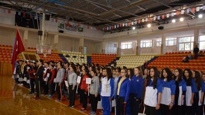Tokat'ta Basketbol Grup Müsabakaları Başladı
