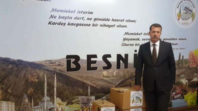 Besni'den, Sur ve Cizre'deki asker ve polislere üzüm gönderildi
