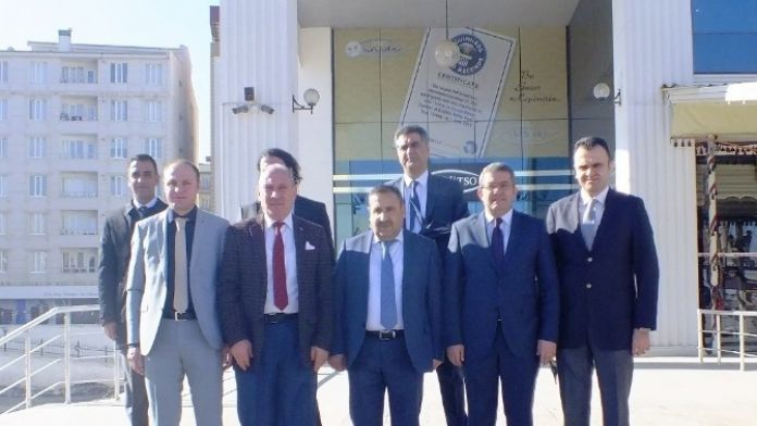Van TSO Heyeti İran'a Gitti