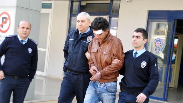 Alanya'da Tüp Çalan Hırsız Yakalandı