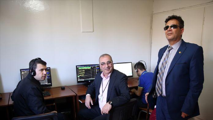 Görme engellilere 'çağrı merkezi' eğitimi