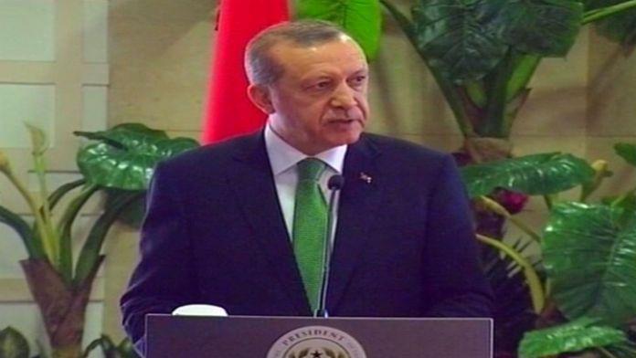 Erdoğan: Hep birlikte lanetlemek durumundayız
