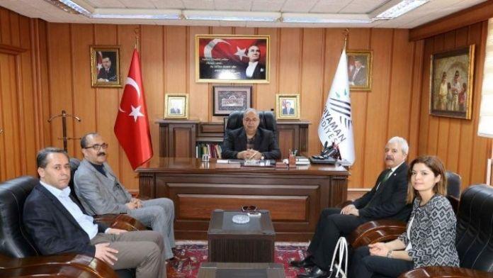 Yeşilay'dan Başkan Kutlu'ya Ziyaret
