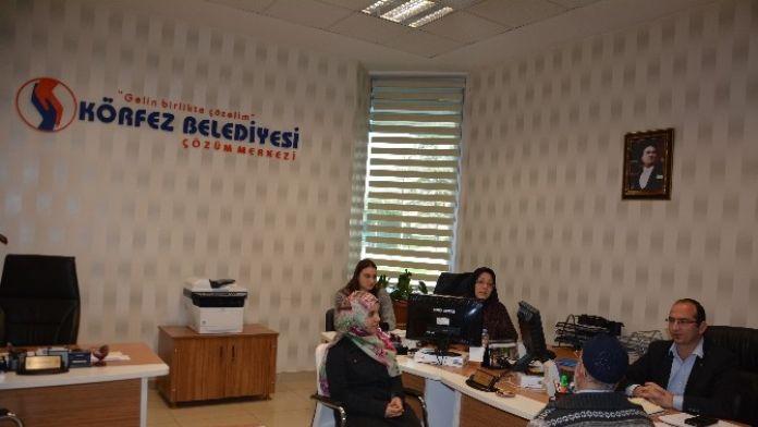 Körfez Belediyesi İŞKUR Hizmet Noktası İstihdam Sağlıyor