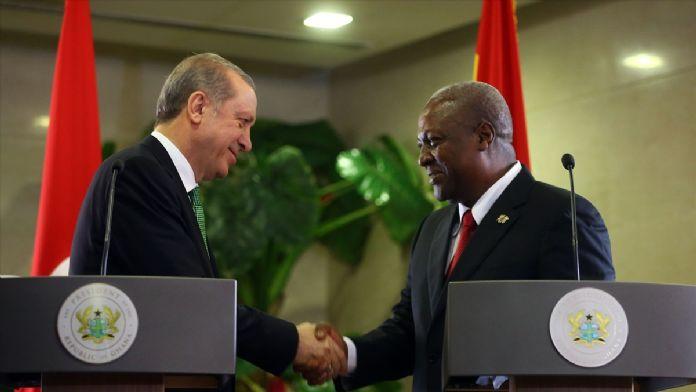 Erdoğan ve Mahama ortak basın toplantısı
