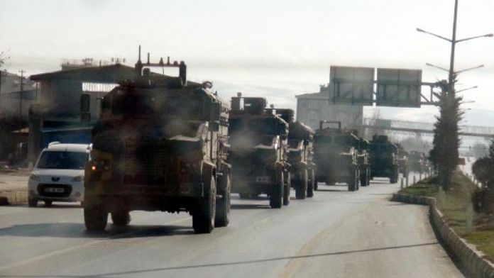 Van'da askeri hareketlilik