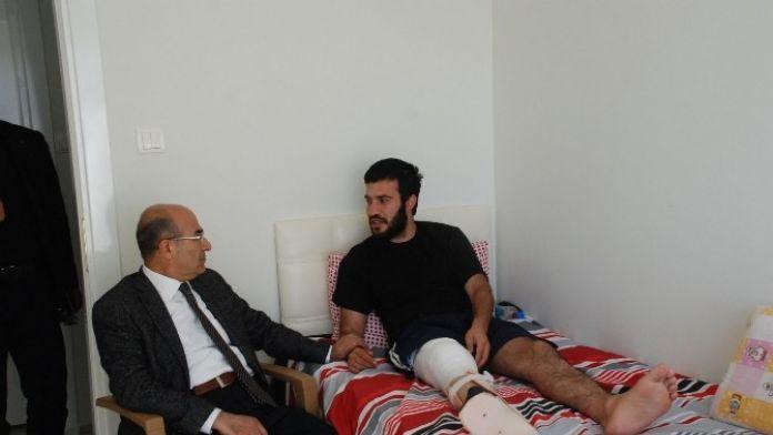Vali Demirtaş'tan Diyarbakır Sur Gazisine Ziyaret