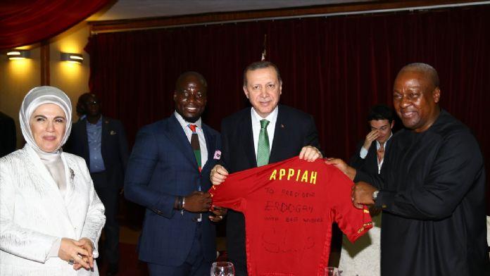 Cumhurbaşkanı Erdoğan, Gana'da