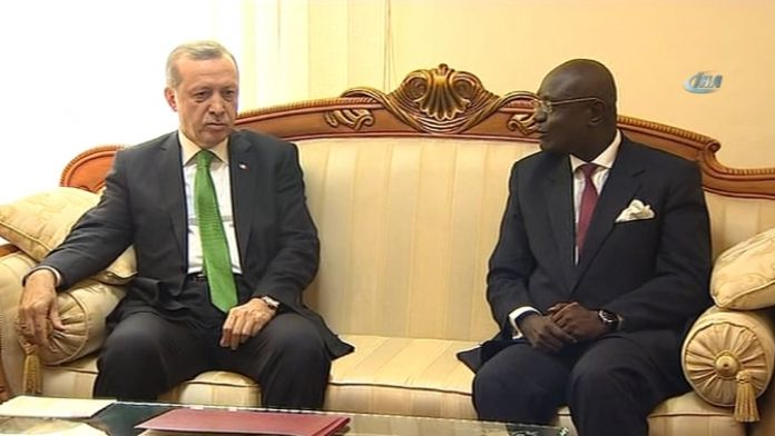 Erdoğan Parlamento Başkanı ile görüştü