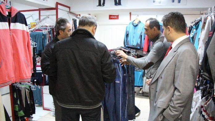 Bolu Polisinde Sahte Ürün Satan Mağazalara Baskın