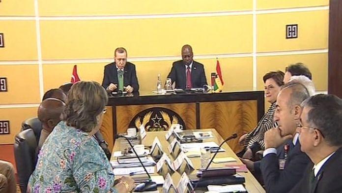 İki Cumhurbaşkanı heyetlerarası görüşmeye başkanlık etti