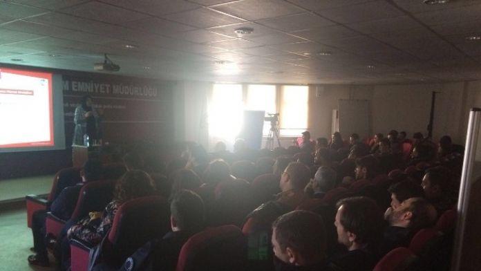 Erzurum Emniyet Müdürlüğü'nde 'Aile İçi İletişim' Semineri