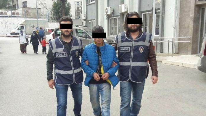 Cep Telefonunu Kapkaç Yapan Zanlı Yakalandı
