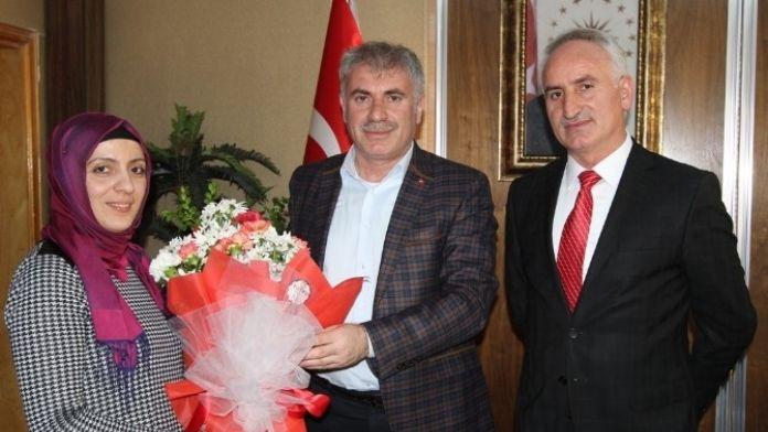 AFAD'dan Belediye Başkanı Memiş'e Ziyaret