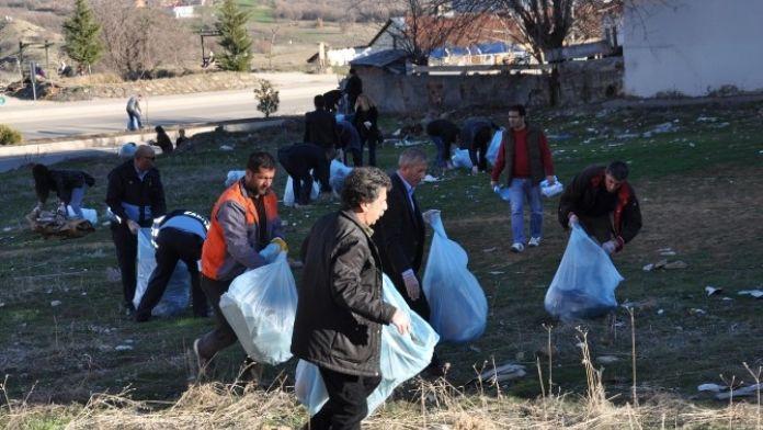 Tunceli Belediyesi'nden Çevre Temizliği
