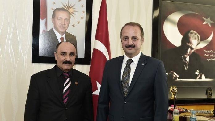Kahveciler Esnaf Odası Başkanı'ndan Akgül'e Ziyaret