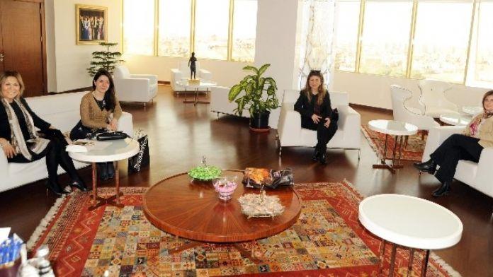 Kadın Girişimcilerden Başkan Çerçioğlu'na Ziyaret