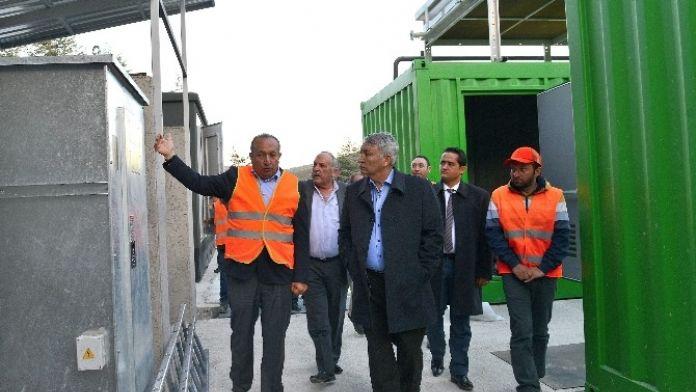 Isparta Çöpten Enerji Üretiyor