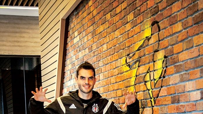 Beşiktaşlı futbolcu Rhodolfo: