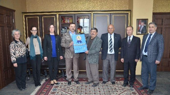 Sosev'den Başkan Ergene'ye Ziyaret