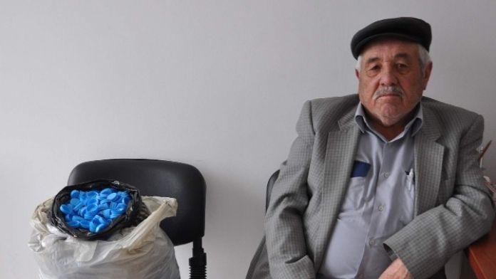 4 Yılda 100 Binin Üzerinde Mavi Kapak Topladı