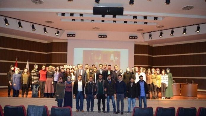 Prof. Dr. Ceylan'dan 'Anav Kültürü Ve Türkmenistan' Konferansı