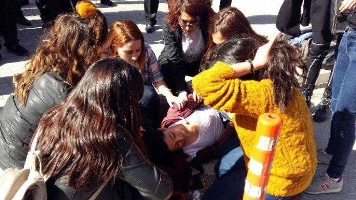 8 Mart Dünya Kadınlar Günü Öncesi ESOGÜ'de Arbede