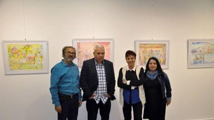 Ayvalık Belediyesi Karma Resim Sergisine Ev Sahipliği Yapıyor